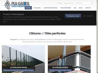 Pla Gassol, fournisseurs en clôtures et tôles perforées