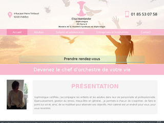 Sophrologue pour enfant à Paris