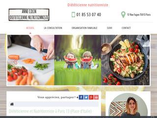 Diététicienne et nutritionniste à Paris 13éme