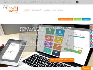 Artinove : un logiciel de facturation pour petites entreprises
