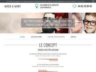 Votre salon de coiffure à Marseille 10ème