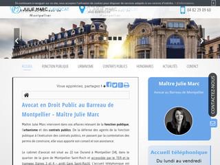 Avocat en droit public à  Montpellier