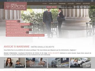 Avocat en droit de la famille Waremme, près de Liège - Maître Delmotte