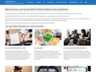 Le portail des salariés : l'information au fil de votre carrière