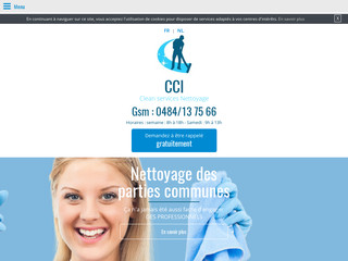 CCI, entreprise de nettoyage et d'entretien à Knokke-Heist