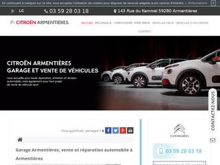 Réparation de carrosserie automobile à Armentières