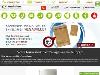 Embaleo - Vente en ligne de produits d'emballage