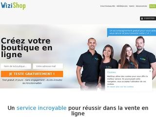 Créer un e commerce avec WiziShop