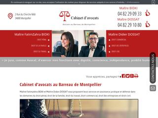 Votre avocat licenciement à Montpellier