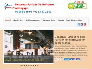 Débarras et déblaiement à Paris et région Parisienne