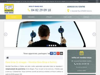 Spécialiste dans la réparation de pare-brises poids lourds à Lyon