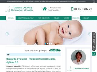 Votre ostéopathe pour femme enceinte à Versailles