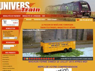 Boutique de vente de modélisme ferroviaire