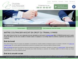 Maître Coutancier, avocat en droit du travail à Paris 14e