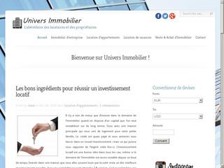Tout savoir sur l'immobilier en France