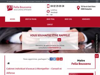 Votre cabinet d'avocat à Montpellier