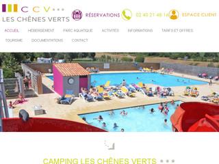 Camping 3 étoiles Loire-atlantique - Les Chênes Verts