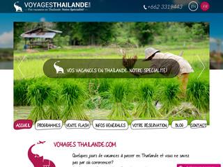 Voyages Thailande organisation de votre séjour en Thailande