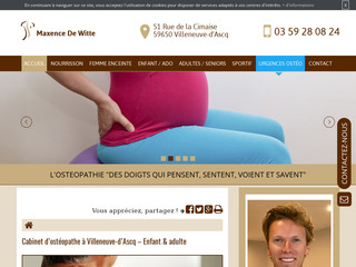 Ostéopathe pour bébé à Villeneuve-d'Ascq