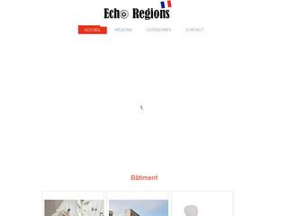 Echo Régions : toute l'actualité par région