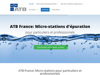 Micro-station d'épuration ATB France
