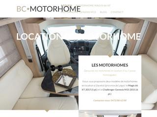 Location de motorhome - BC Motorhome