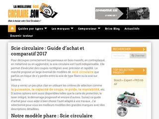 Guide comparatif de scies circulaires.