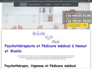 Psychothérapie familiale dans la province de Namur - De la Tête O Pieds