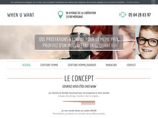Coiffeur pour femmes à Mérignac