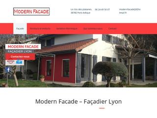 Modern facade : Le savoir faire d'un expert à votre disposition