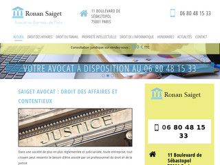 Avocat propriété intellectuelle à Paris - SAIGET AVOCAT