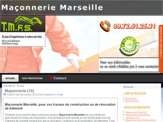 Entreprise de maçonnerie Marseille