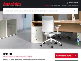 Berhin, aménagement d'espaces professionnels à Namur