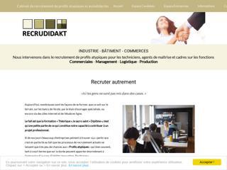 Cabinet de recrutement Recrudidakt à Nantes