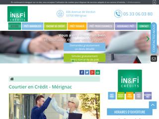 Courtier en rachat de crédit à Mérignac, In&Fi Crédits