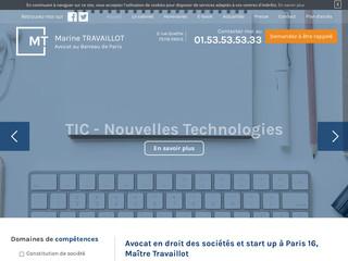 Maître Travaillot - avocat en droit des sociétés à Paris 16
