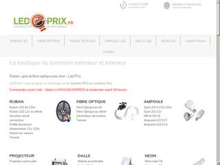 Led-prix décoration lumineuse LED Pro