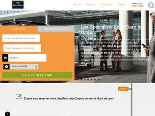 réserver un taxi à la Gare de Lyon