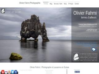 Olivier Fahrni - Photographe à Lausanne en Suisse