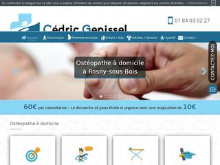 Votre ostéopathe à domicile dans la région de Rosny-sous-Bois