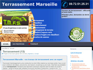 Démolition et Terrassement Marseille