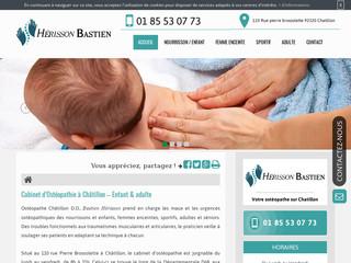 Votre ostéopathe pour nourrisson à Châtillon