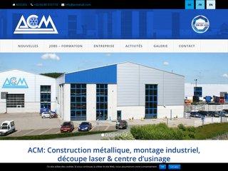 Centre d'usinage et découpe laser: ACM