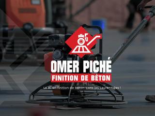 Finition de béton Omer Piché