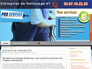Société de nettoyage Strasbourg