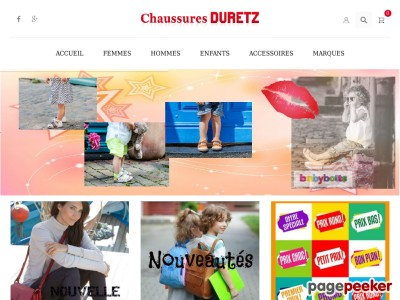 Chaussures Duretz - Vente de chaussures en ligne