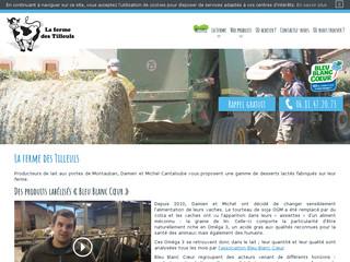 Producteur de produits laitiers à Montauban (83) - La Ferme des Tilleuls
