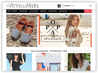 Chaussures de marque tendance en vente en ligne