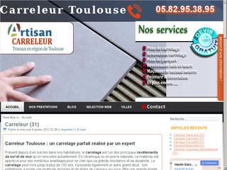 Artisan carreleur Toulouse