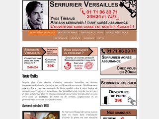 Professionnel serrurier Versailles